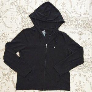 Danskin Now Black Soft Hoodie Size XL